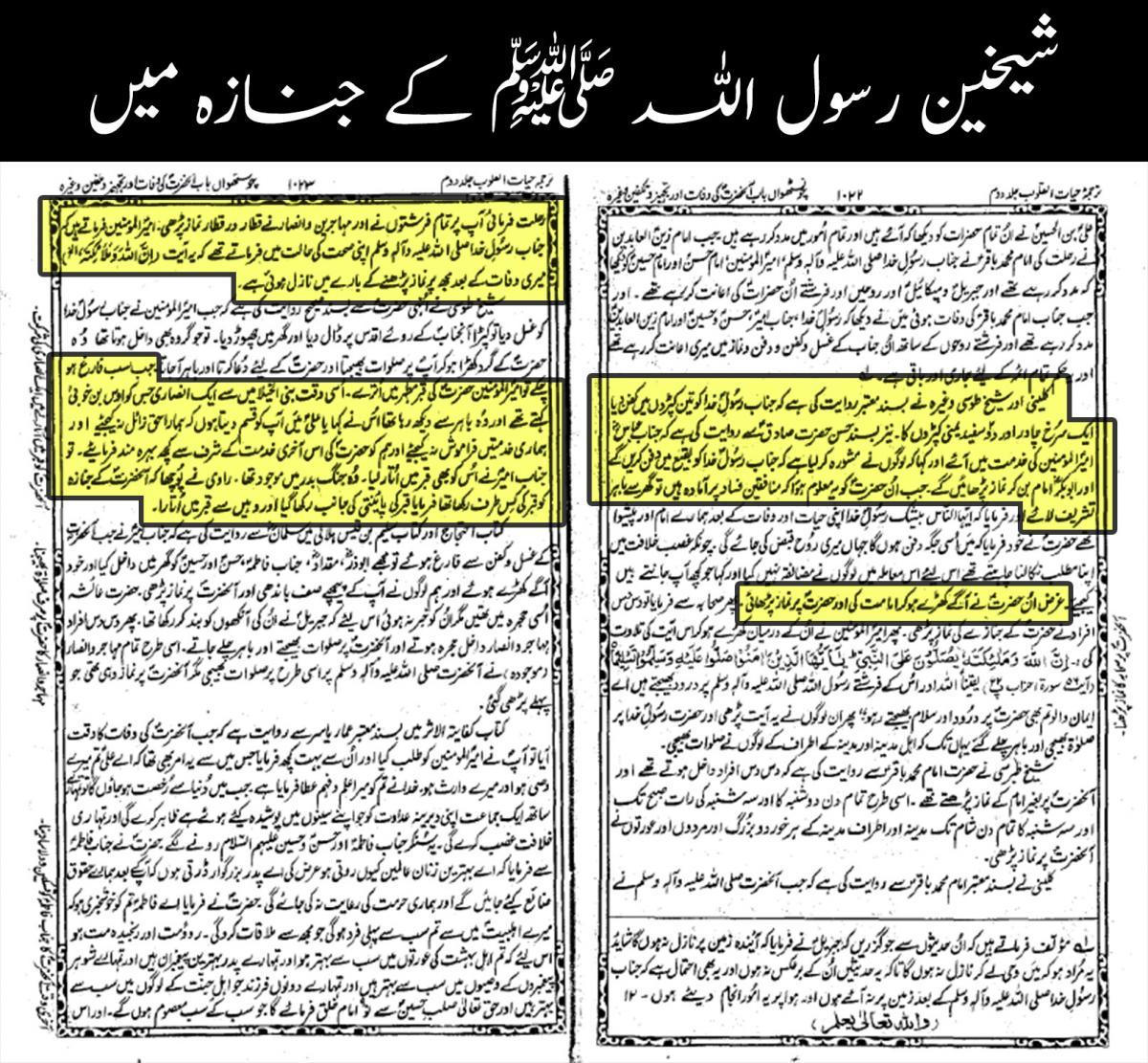 Hayat ul quloob urdu